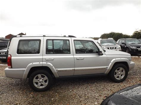 auto air conditioning service 2006 jeep commander security system used 2006 jeep commander 3 0 crd v6 limited station wagon 4x4 5dr for sale in oldham pistonheads