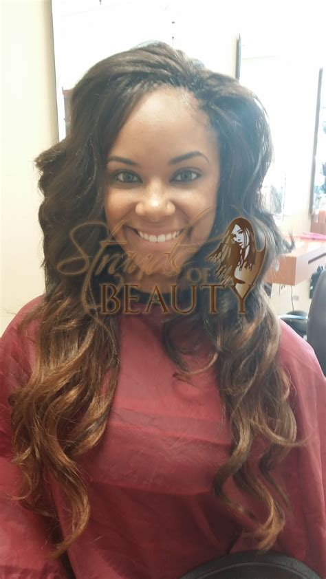 ombre micro braid hair would you want to spend this much time on these chunky