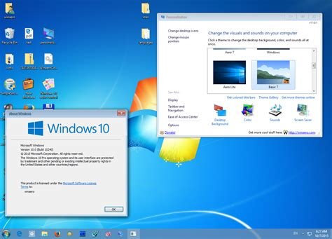 themes for windows 7 taskbar get windows 7 theme for windows 10