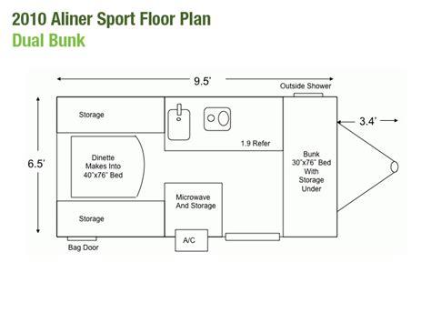 aliner floor plans pin by miller on pop up cers