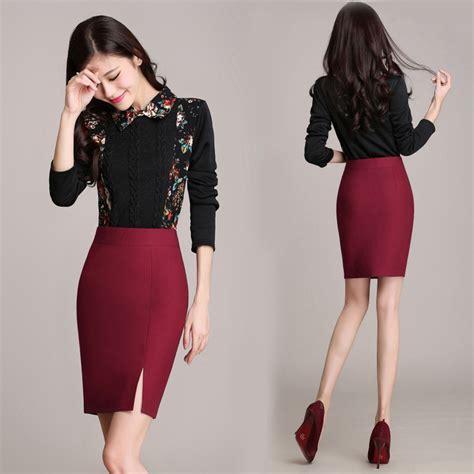 aliexpress buy pencil skirt tight skirt autumn