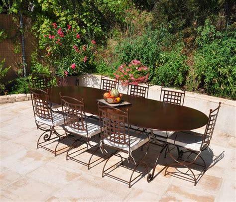 vente salon de jardin en fer forg 233 delattre meuble et
