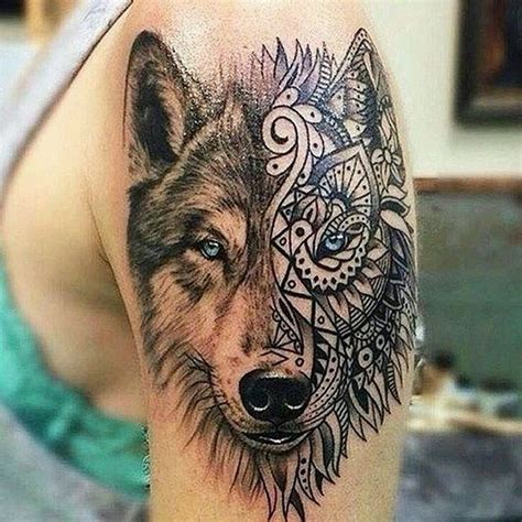 50 Of The Most Beautiful Wolf Tattoo Designs The Internet Awesome Wolf Designs
