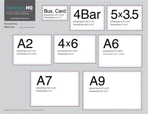 a7 card size template white space wholesale printing by stationeryhq
