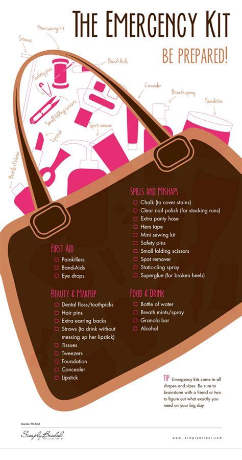 Wedding Emergency Checklist Kit by Emergency Wedding Kit Philadelphia Wedding