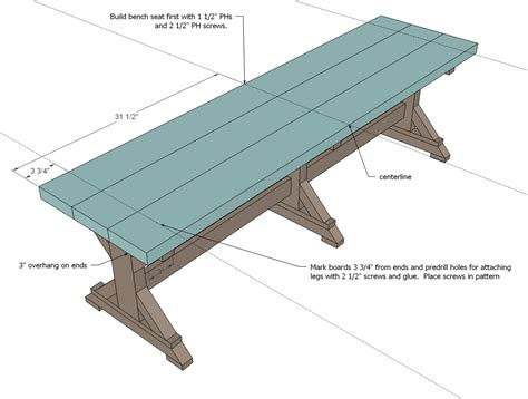 simply breathtaking 20 diy farmhouse bench tutorial that