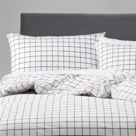 Grid Bed Sheets by Home Accessory Grid Aesthetic Wheretoget