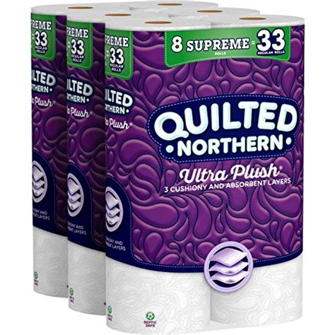 buy quilted northern ultra plush supreme toilet paper  supreme rolls special discount