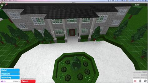 Cheap 2 Story Houses by Roblox Bloxburg Speedbuild Mansion Part 1 Youtube