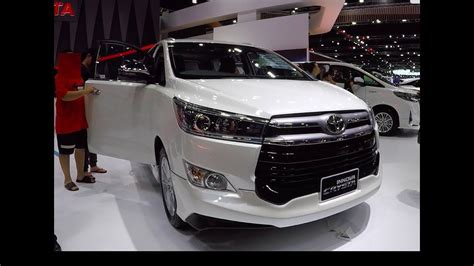 Toyota Innova 2019 by Best Toyota Innova Crysta 2019 Model New Review Car And