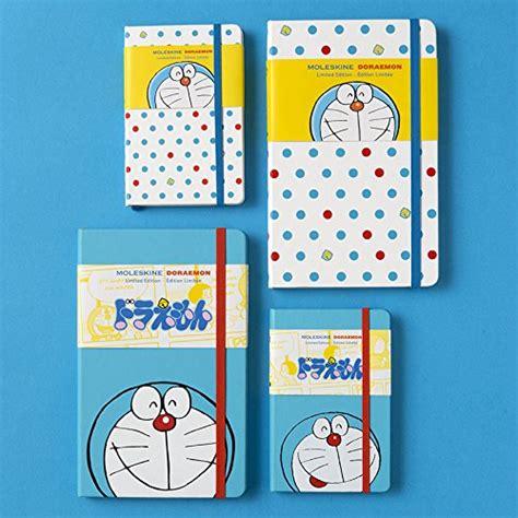 moleskine notebook doraemon cover ruled paper pocket ledomm710 japan ebay
