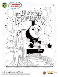 thomas birthday coloring pages printables pbs parents birthdays free and thomas birthday