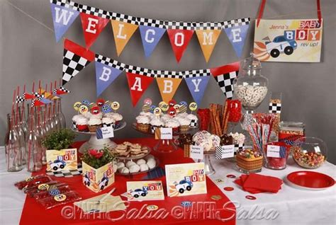 Race Car Themed Baby Shower by 28 Best Images About Formula 1 Racing Baby Shower On