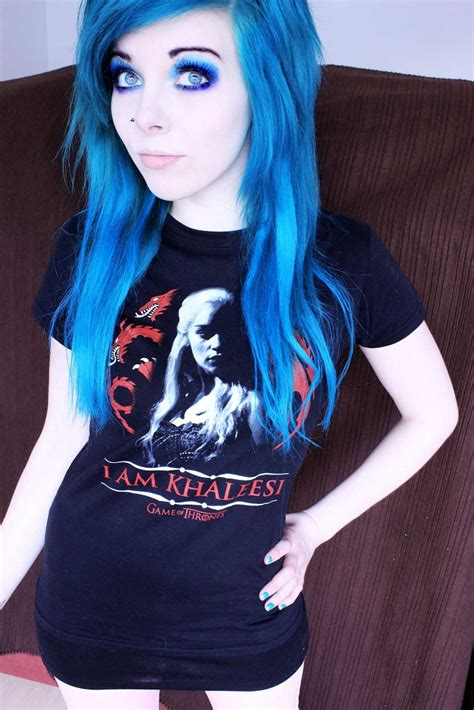 gothic girl with bright red hair 17 cool halloween photo of ira vira emo girl scene queen pastel
