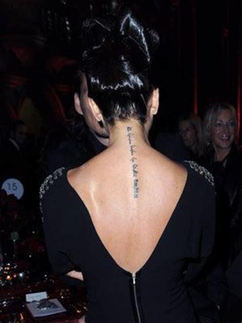 tattoo victoria beckham significato 17 best images about beckham tattoo on pinterest lower