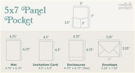 wedding card size template diy wedding invitations guide cards pockets