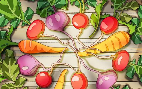 wallpaper cartoon fruit cartoon food wallpaper wallpapersafari