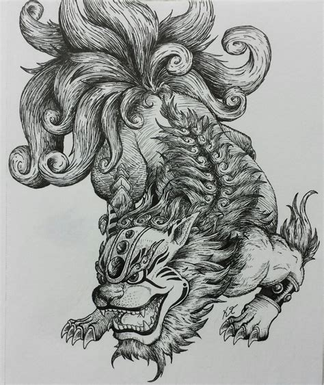 tattoo foo dog designs foo http ift tt 29ljljv more pins like this at