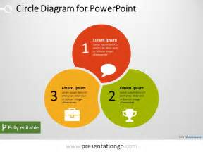 powerpoint diagram templates 3 circle powerpoint diagram presentationgo