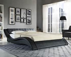 King Size Beds With Two Mattresses King Size Black White Bed Frame And With Memory