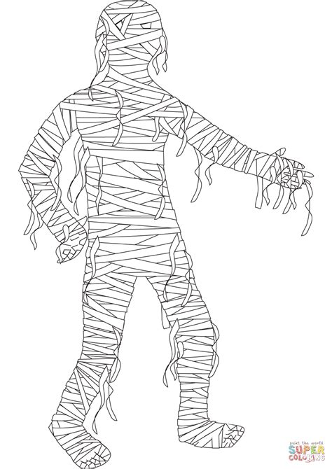 Mummy Coloring Pages by Mummy Coloring Page Free Printable Coloring Pages
