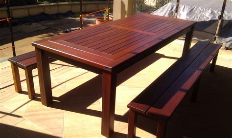 timber patio furniture special projects