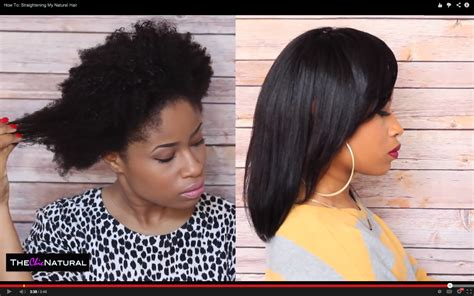natural hairstyles for long straight hair how to take your natural hair from curly to straight