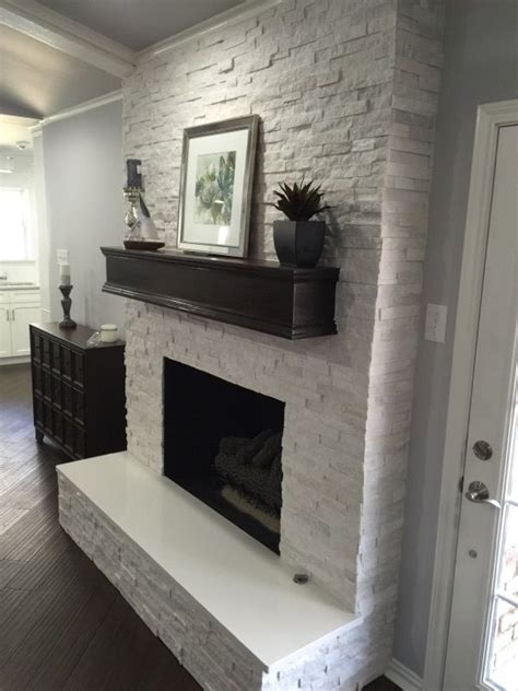 tile fireplace makeover best 25 white fireplaces ideas on