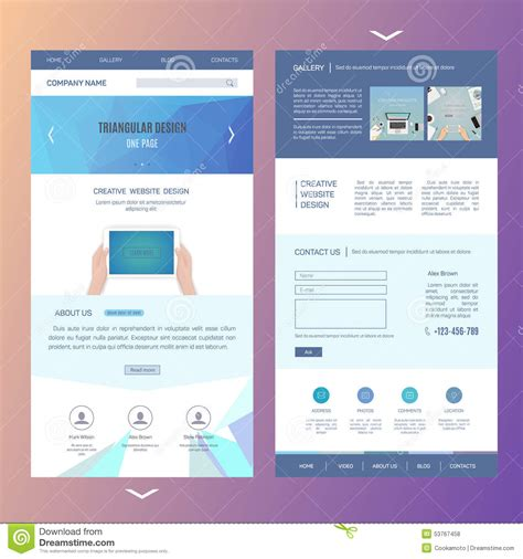 Front And Back Brochure Template Various High Professional Templates One Page Flyer Template