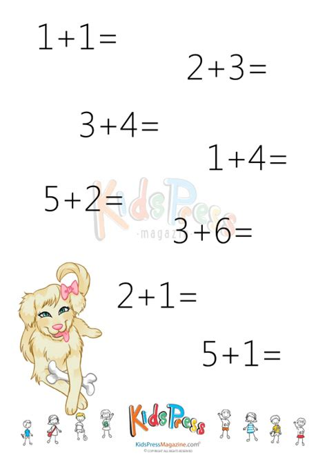 printable addition facts up to 10 addition facts up to