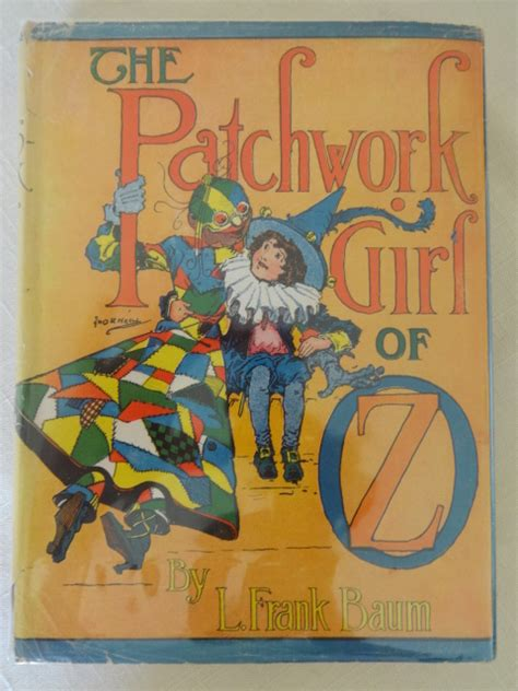 The Patchwork Of Oz - sale vintage patchwork of oz book dust jacket l