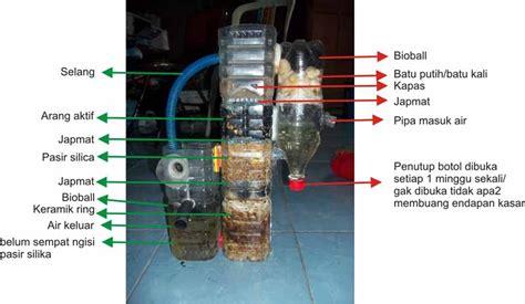 Pompa Gelembung Aquarium Tanpa Listrik membuat filter aquarium sendiri tanpa kuras air selamanya