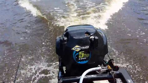 5 h p briggs and stratton outboard motor review youtube - Briggs And Stratton Boat Motor Reviews