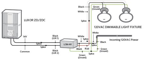 luxor cube and relay wiring diagrams fx luminaire