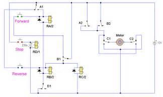 dc motor reversing circuit