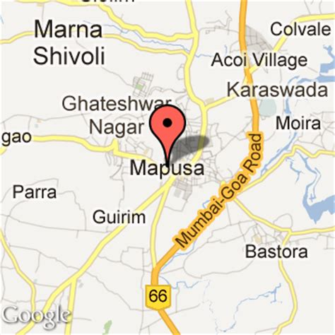 mapusa goa map mapusa tourism tourist places near harmal travel guide