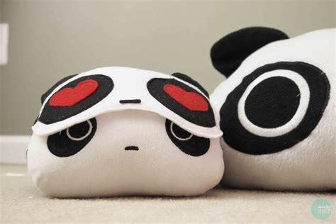Panda Sleeping Mask diy panda in sleeping mask 183 how to make a sleeping
