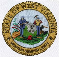design west embroidery west virginia state seal embroidery designs machine