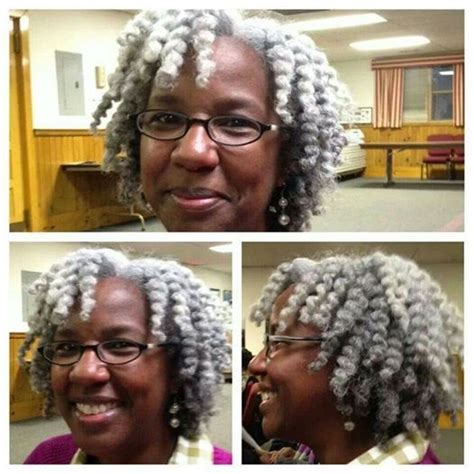gray twist hairstyles salt and pepper twist out yes ma am my style