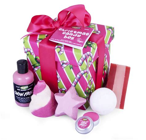 Christmas Candy Giveaways - giveaway win a lush christmas candy gift box beauty and the north east
