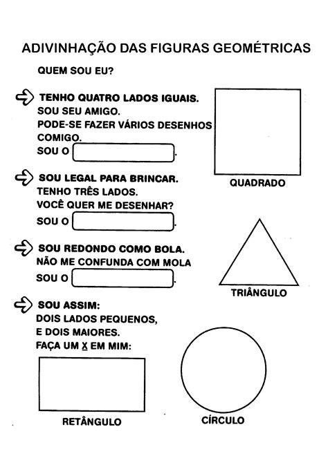 figuras geometricas atividades educação infantil atividades com formas geom 233 tricas para imprimir s 243