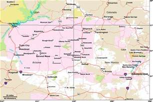 colorado map cities towns navajo land use planning project nlupp