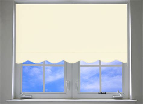 roller shades with scalloped edge scallop quality straight edge window roller blinds easy