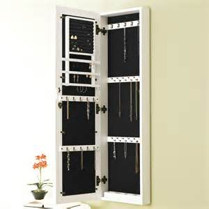 Wall Mount Jewelry Mirror Armoire 967vm5062c 2