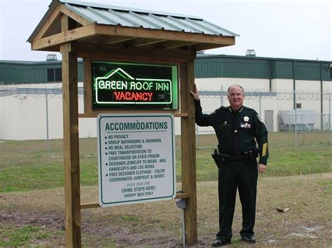Flagler County Arrest Records Flagler County Reveals Its New Sign Green Roof Inn