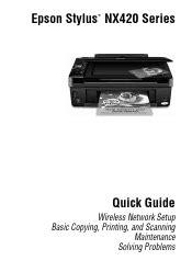 Epson Stylus Nx420 Manual