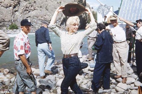 film up river never before seen marilyn monroe posing for make up artist