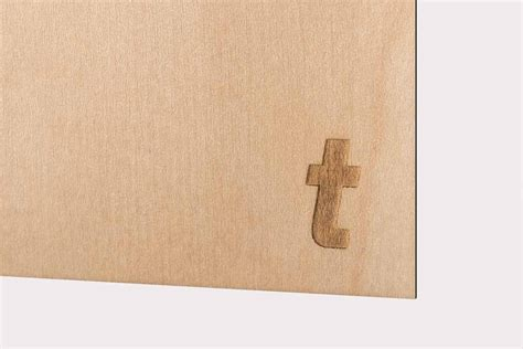 Wooden Laser Paper Combines Printing And Laser Applications
