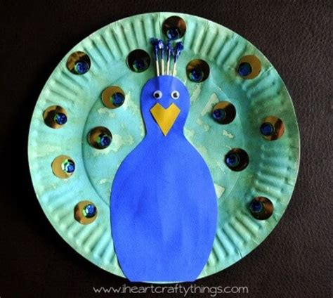 peacock craft ideas for 20 stunning peacock crafts for artsy craftsy