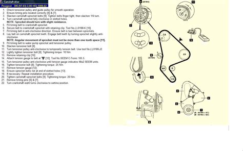 peugeot 306 timing belt change value of a 306 help page 6